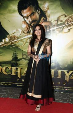 Soundarya R Ashwin at Kochadaiyaan event