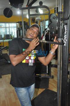 Sunil Pal at Karan Oberoi Fitt Zzone Gym launch