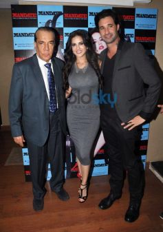 Sunny Leone launches men magazine Mandate April issue