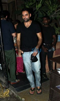 Abhay Deol spotted at Bandra