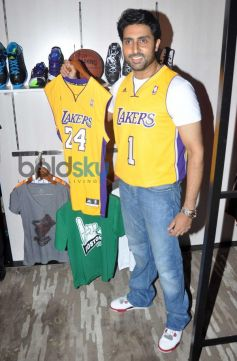 Abhishek Bachchan launches NBA Store