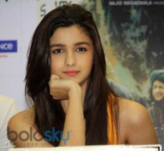 Alia Bhatt during Highway film DVD launch
