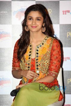 Alia Bhatt at upcoming Film Launch