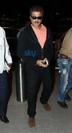 Anil Kapoor leaves for Dil Dhadakne Do Shooting
