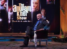 Anupam Kher during the Show