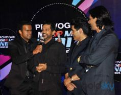 Arjun Rampal, Manish Malhotra at Mr. India World 2014