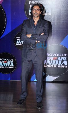 Arjun Rampal at Mr. India World 2014