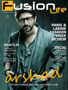 Arshad Warsi on the cover of Fusion Life April 2014