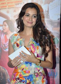Dia Mirza at Bobby Jasoos Trailor Launch