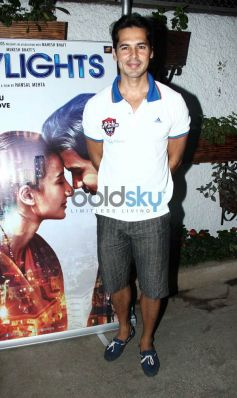 Dino Morea at special screening of Citylights