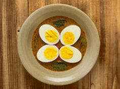 Egg Curry With Mint