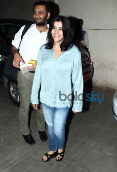 Ekta Kapoor at Hawwa Hawwai screening