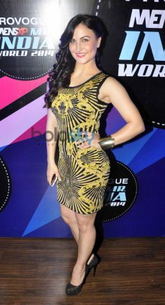 Elli Avram at Mr. India World 2014