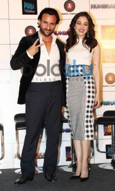 Esha Gupta and Tamannaah Bhatia at Press Conference