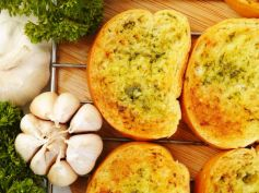 Garlic Lemon Toast Snack