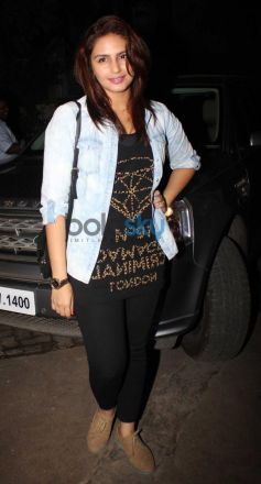 Huma Qureshi at special screening of Citylights