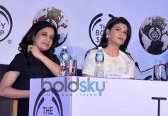 Jacqueline Fernandez as brand ambassador of Body Shop