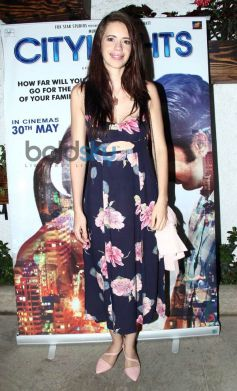 Kalki Koechlin at special screening of Citylights