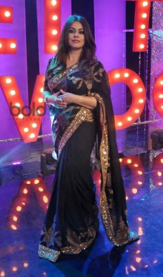 Mahima Chaudhry on the sets of Ticket to Bollywood