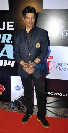 Manish Malhotra at Mr. India World 2014