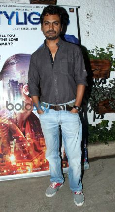 Nawazuddin Siddiqui at special screening of Citylights