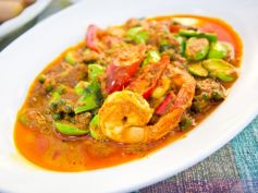 Prawn Capsicum Curry