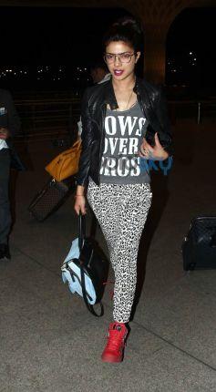 Priyanka Chopra  leaves for Dil Dhadakne Do Shooting