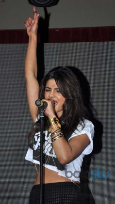 Priyanka Chopra stuns during her album launch