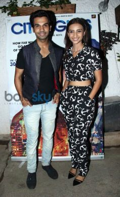 Rajkumar Roa at special screening of Citylights