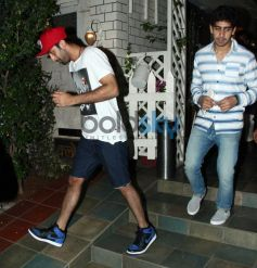Ranbir Kapoor snapped at Restaurent
