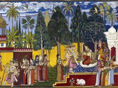 Ravana Abandons His Daughter