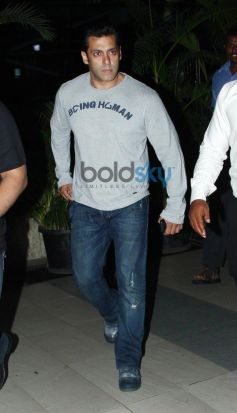 Salman Khan snapped at Airport