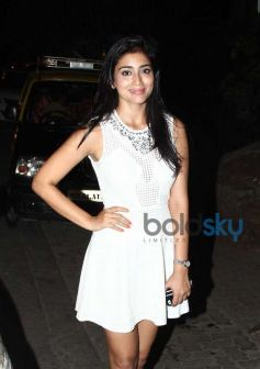 Shriya Saran spotted at Bandra