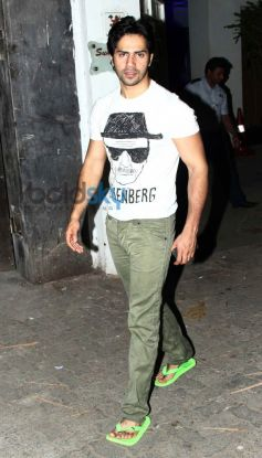 Varun Dhawan attends 2 States screening