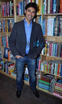 Vickrant Mahajan during his Book launch