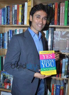 Vickrant Mahajan during his Book launch