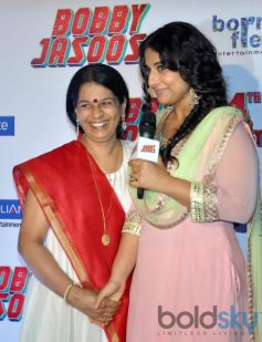 Vidya Balan at Bobby Jasoos Trailor Launch