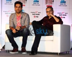 Aayushman Khurana at  Zee TV's Cinestars Ki Khoj