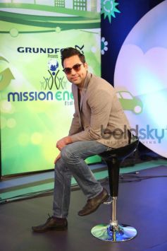 Abhay Deol at the NDTV GRUNDFOS Mission Energy Session