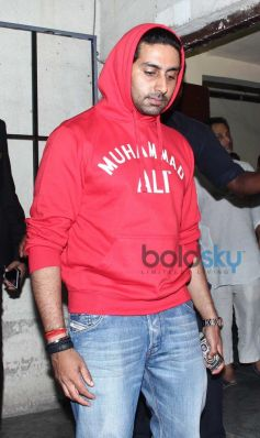 Abhishek Bachchan Snapped at PVR