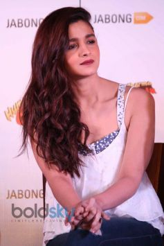 Alia Bhatt during a promotion of HSKD