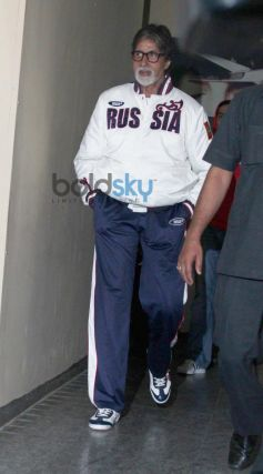 Amitabh Bachchan Snapped at PVR