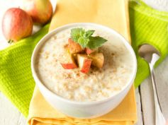 Apple With Oats