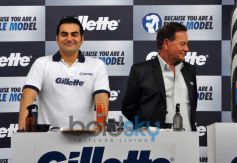 Arbaaz Khan at Gillette Campaign