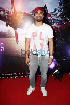 Celebs at Special Screening of Transformers 4 at Juhu