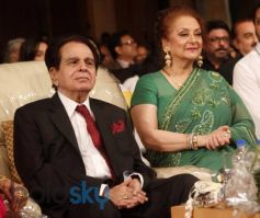 Dilip Kumar during his Autobiography Launch