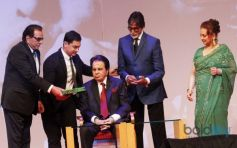 Aamir Khan and Amitabh Bachchan at Dilip Kumar Autobiography Launch