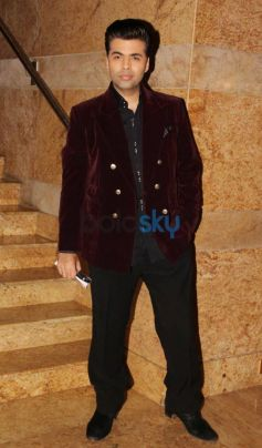 Karan Johar at Dilip Kumar Autobiography Launch