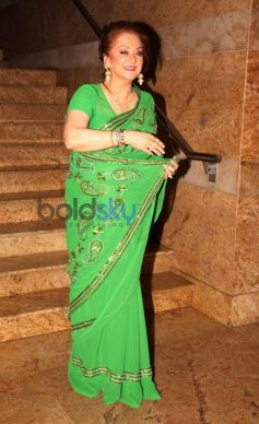 Saira Banu at Dilip Kumar Autobiography Launch