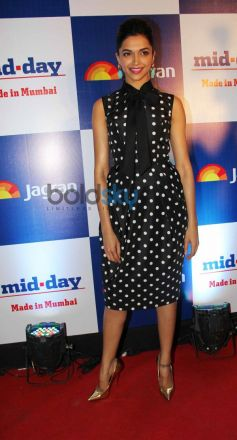 Deepika Padukone at Mid Day relaunch party